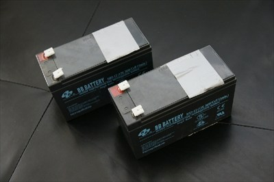 2 HR9-12 12V Batteries