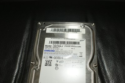 750 GB SATA hard drive Samsung HD753LJ