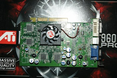 ATI Radeon 9600 Pro Video Card 128 MB DDR AGP