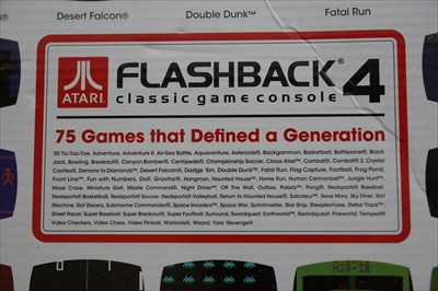 Atari flashback 4 classic gaming console - Atari flashback classic game console game list ...