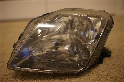 Drivers side headlight for 97-01 Honda Prelude