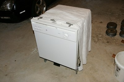 GE Nautilus Dish Washer White