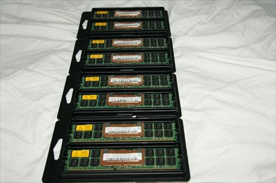 Hynix 4GB 2 x 2GB PC2-4200 Buffered ECC DDR2 Server RAM