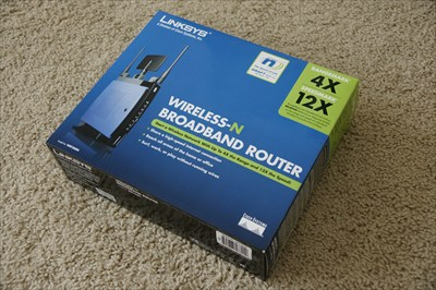 Linksys WRT300N Wireless N band Router