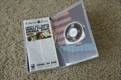 PSP game Grand Theft Auto Liberty City Stories