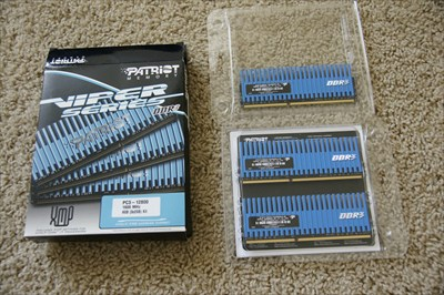 Patriot Memory DDR3 PC3-12800 1600 MHz 6 GB 3x2GB