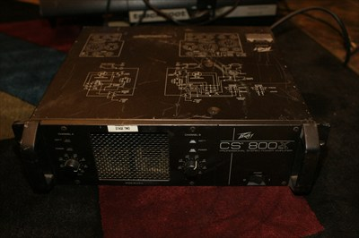 Peavey CS 800 Amp Rack Mount