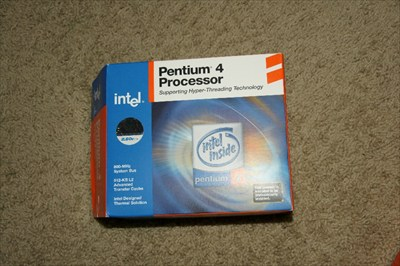 Pentium 4 Processor 2.6 Ghz 512K L2 cache Hyper Threaded