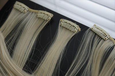 Platinum Blonde Hair Extensions