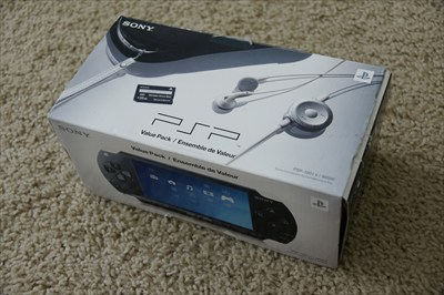 PlayStation Portable PSP gaming system PSP-1001K