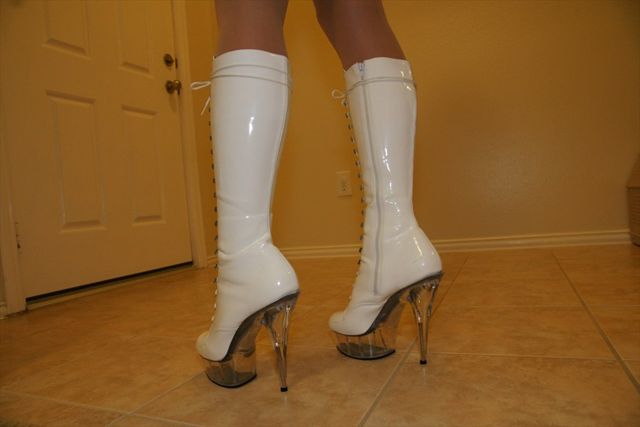 Love my stripper shoes better Luv aletta
