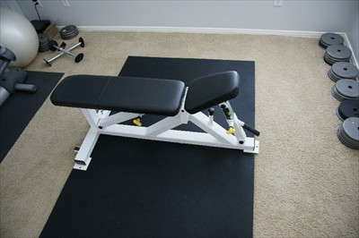 Professional Apex Flat to Military Bench for dumbell presses