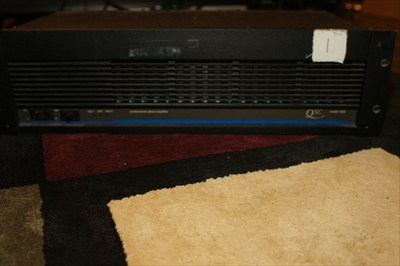 QSC Model 1400 Amp Rack Mount