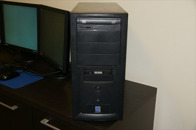 RAIDMAX MID Tower Case with 450 Watt PS DVD-RW, Floppy