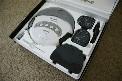 Roomba Discovery Robotic Vacuum Cleaner Model 4210
