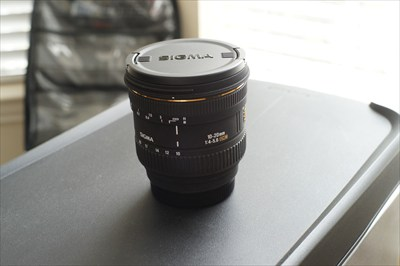 Sigma 10-20mm EX DC Lense for Sony Alpha Minolta