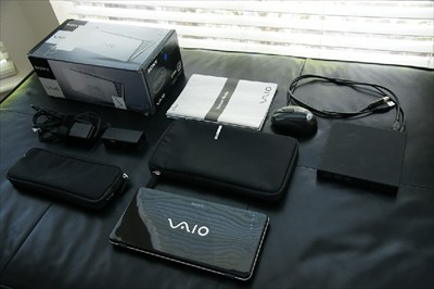Sony Vaio VGN-P530H/Q with accesories