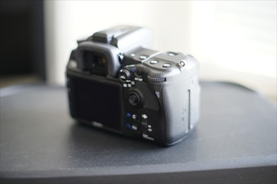 Sony a700 DSLR with box body only
