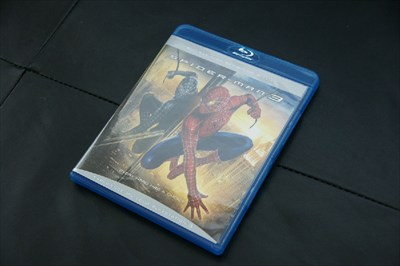 Spiderman 3 Blueray