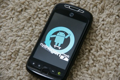 Tmobile 3G Slide Rooted running Cyanogenmod 7