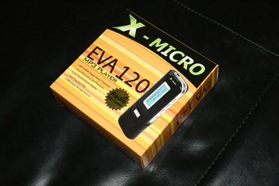 x-micro 2GB MP3 player and recorder FM tuner